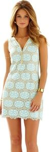 Lilly Pulitzer Nadine Lace Dress in Whisper Blue